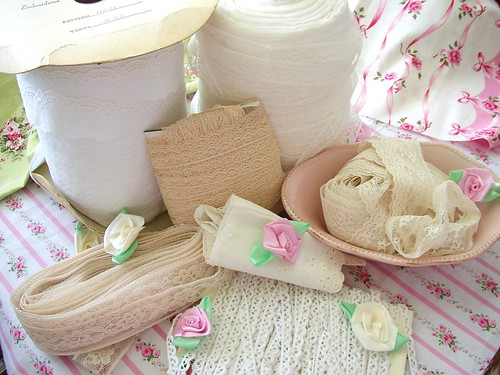 Basket of Goodies by gumball vintage