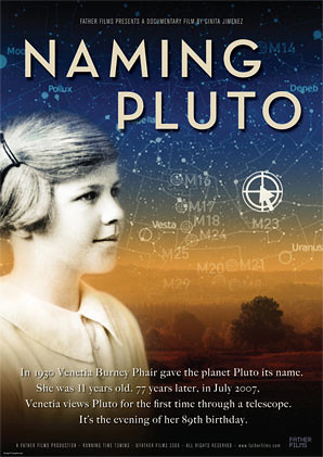 Naming Pluto (UK 2008) poster motief