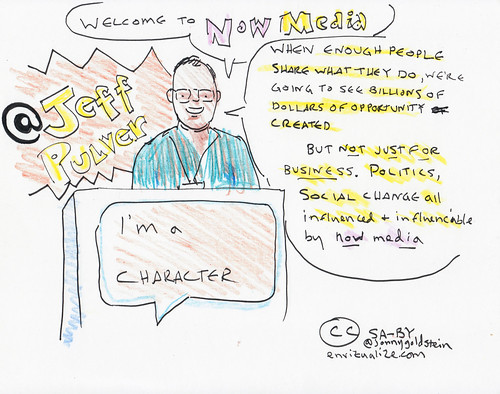 Jeff Pulver Opens Day 1 of the 140 Characters Conference