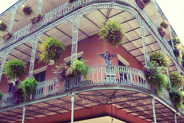 Balcony in New Orleans