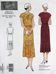 Vogue 2671 (Graustark) Tags: vintage 1930s pattern dress sewing vogue reprint 2671