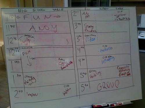 Presentation Camp LA Agenda