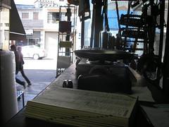 Interior da loja: frente