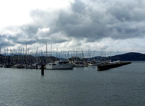 Overcast boats