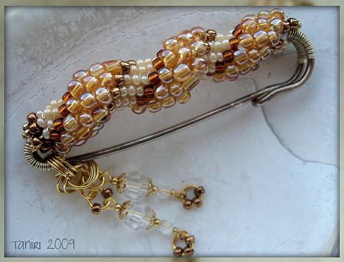 amber fibula