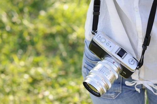PEN E-P1 with KMZ ЮПИТЕР-9 85mm F2