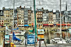 honfleur, picture within a picture