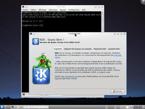 Quelques infos sur la Slackware 13.1rc1