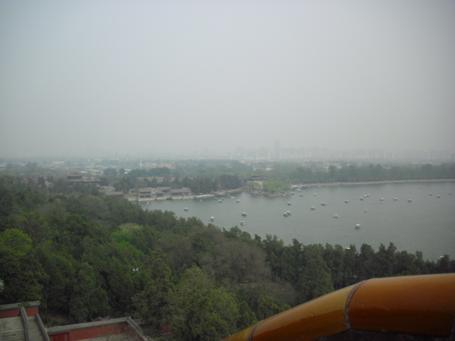 Oh, Chinese fog.