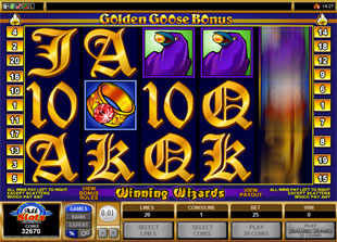 Golden Goose Winning Wizards slot game online review