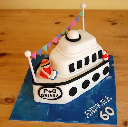 Cruise Ship Cake Beautiful Birthday Cakes - Cruise ship cake
