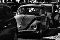 the soul of the beetle (loredana_75) Tags: car ombra nostalgia luce biancoenero contrasto maggiolino vecchioenuovo