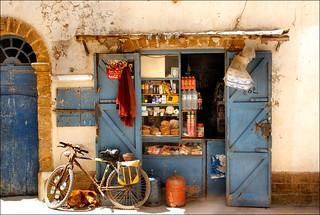 the shop............