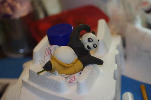 Kung Fu Panda CakeFirst0005