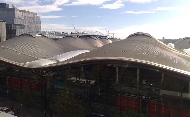 Southern Cross Station from above