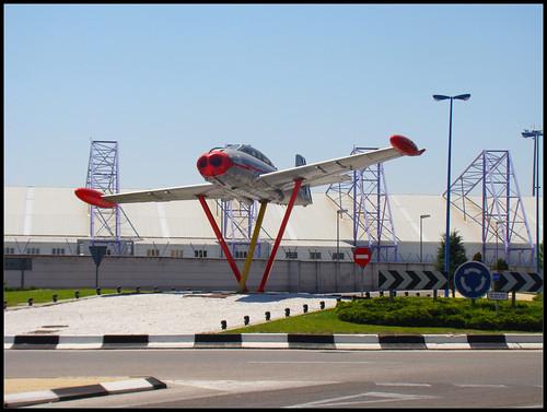 Rotonda Base Aérea de Getafe