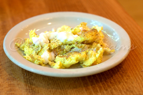 Scrambled Eggs with Yogurt