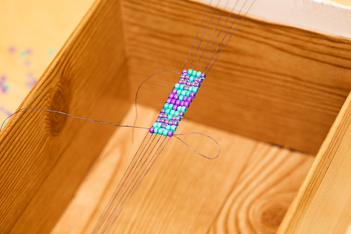 5795180177 5044407c1e Make your own beaded curtain using a combination of crystal, glass, wood, ...