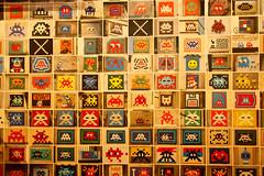 Invader (dprezat) Tags: street streetart art spaceinvaders figurines invader mosaique jeuxvido sonyalpha700
