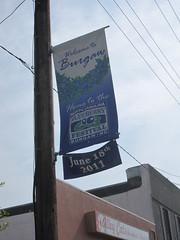 NC Blueberry Festival Sign, Burgaw, NC