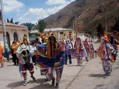 Bajada de Reyes Ayacucho Peru - Comparsa Costumbrista