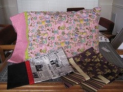 Bazaar Pillowcases-set 1