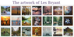 The artwork of Les Bryant