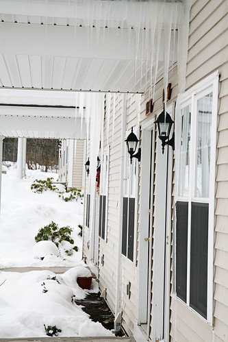 icicles attacking our house