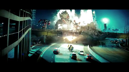 Transformers 2 Demolishor puente