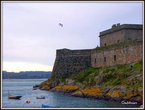 San Anthony Castle. A Coruña .Spain