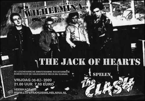 Jack Of Hearts play The Clash