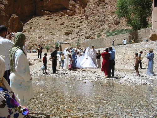 Huwelijk valt in het water