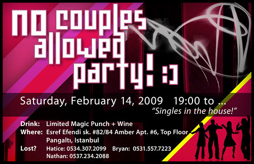 No Couples Allowed Party 2009