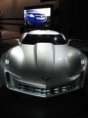 "Transformers ""Sideswipe"" Chevrolet Corvette Stingray Concept (Digicoffee) Tags: auto show chicago chevrolet stingray transformers concept corvette 2009 sideswipe"
