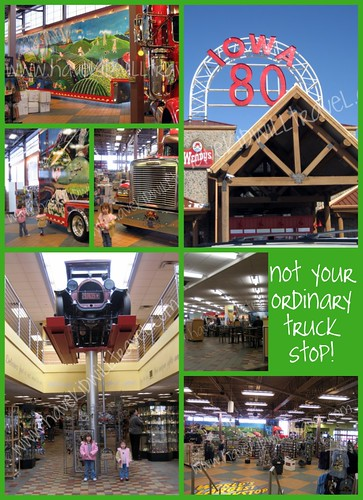 I-80 Truck Stop collage