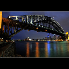 Harbour bridge and the opera