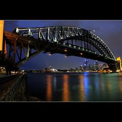 Harbour bridge and the opera