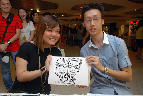Caricature live sketching for The Cocoa - Part 3 - 11