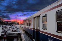 Ultimo treno (Marco Battistutta) Tags: stazione littorina cividale marcobattistutta