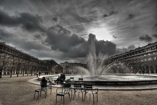 Fontaine au Port Royal à Paris
