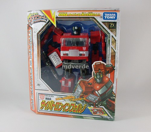 Transformers Inferno Classics Henkei Voyager - caja