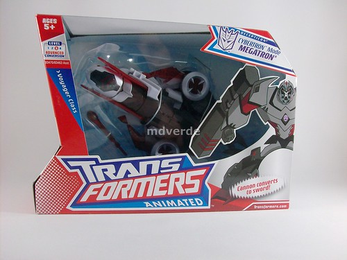 Transformers Megatron Animated Voyager - caja