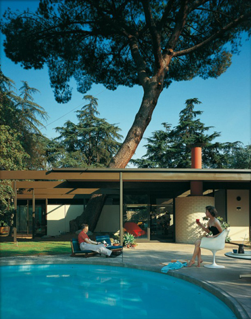 Case Study House #20, photographed by Julius Shulman