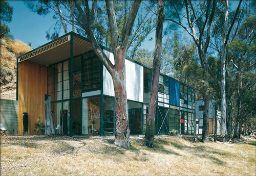 Eames House, photographed by Julius Shulman