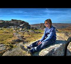 Why So Sad? (©Komatoes) Tags: uk nikon stones kitlens son devon granite tor hdr dartmoornationalpark d40 nikond40
