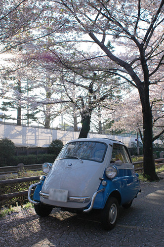 BMW Isetta  in Setagaya Japan [Apr. 09. 2009]