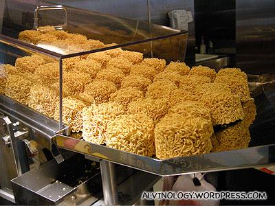 The noodles