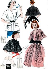 B6039 Gallery (sandritocat) Tags: vintage pattern sewing international commercial rockabilly cape supplies stole freeshipping quickandeasy onesize vintage50s butterick6039