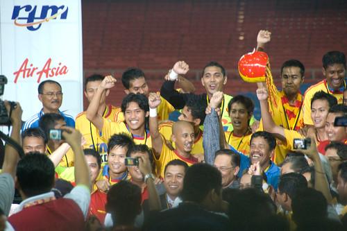 Anwar Ibrahim di Stadium Bukit Jalil by Anwar Ibrahim.