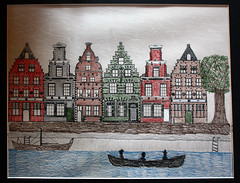 Dutch Cityscape Project Completed (Mr. T in DC) Tags: art architecture ink buildings washingtondc dc crafts paintings cityscapes nationalgallery dcist stamping museums sketches artworks nga nationalgalleryofart artprojects dutcharchitecture artactivities dutchcityscapes